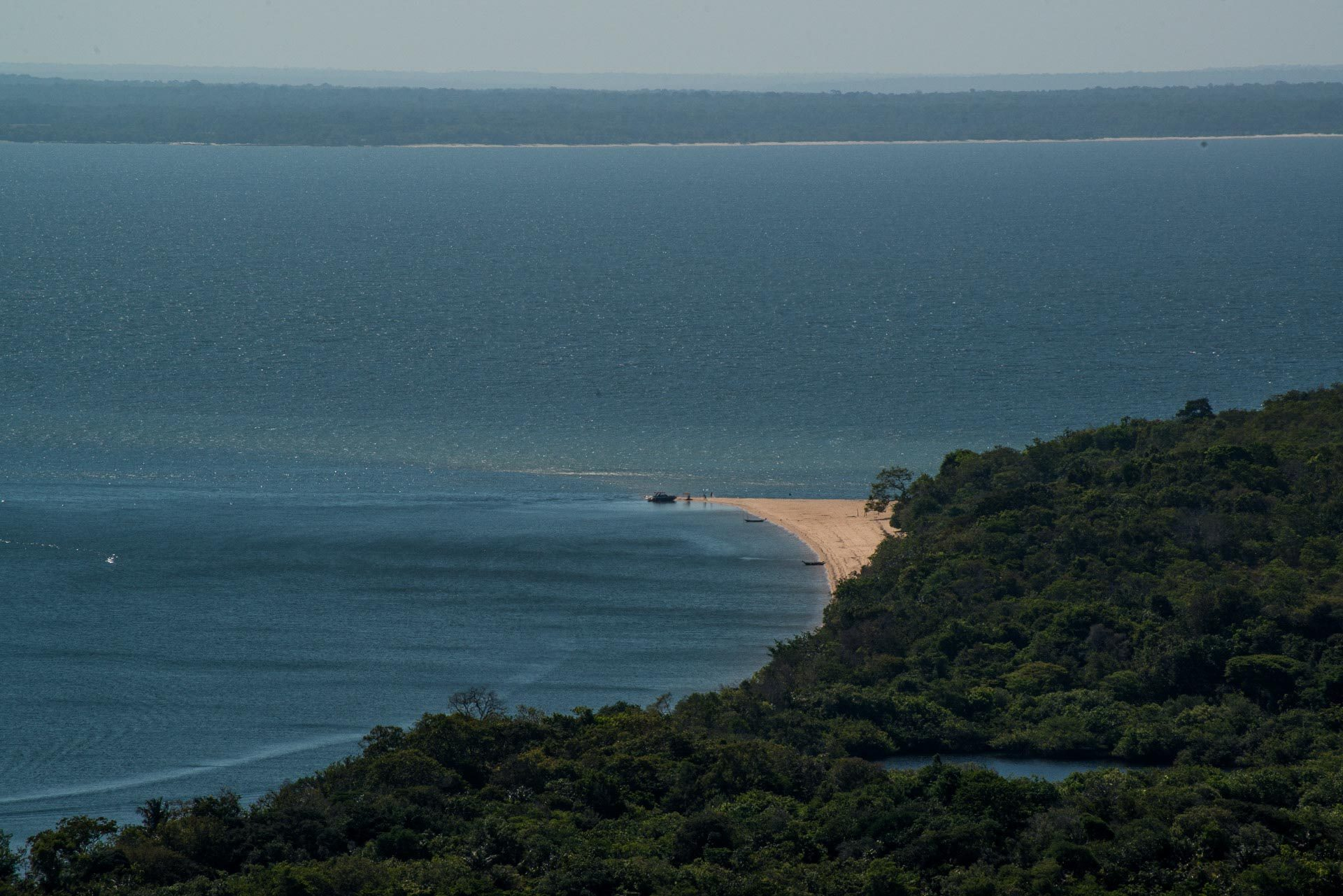 Vista da Serra da Piroca - Ponta do Cururú - Pará - Brasil
