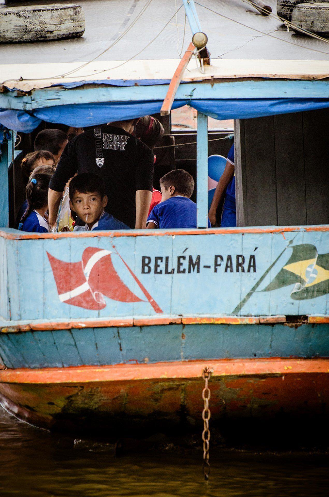 Ribeirinhos - Ilha do Combú - Belém