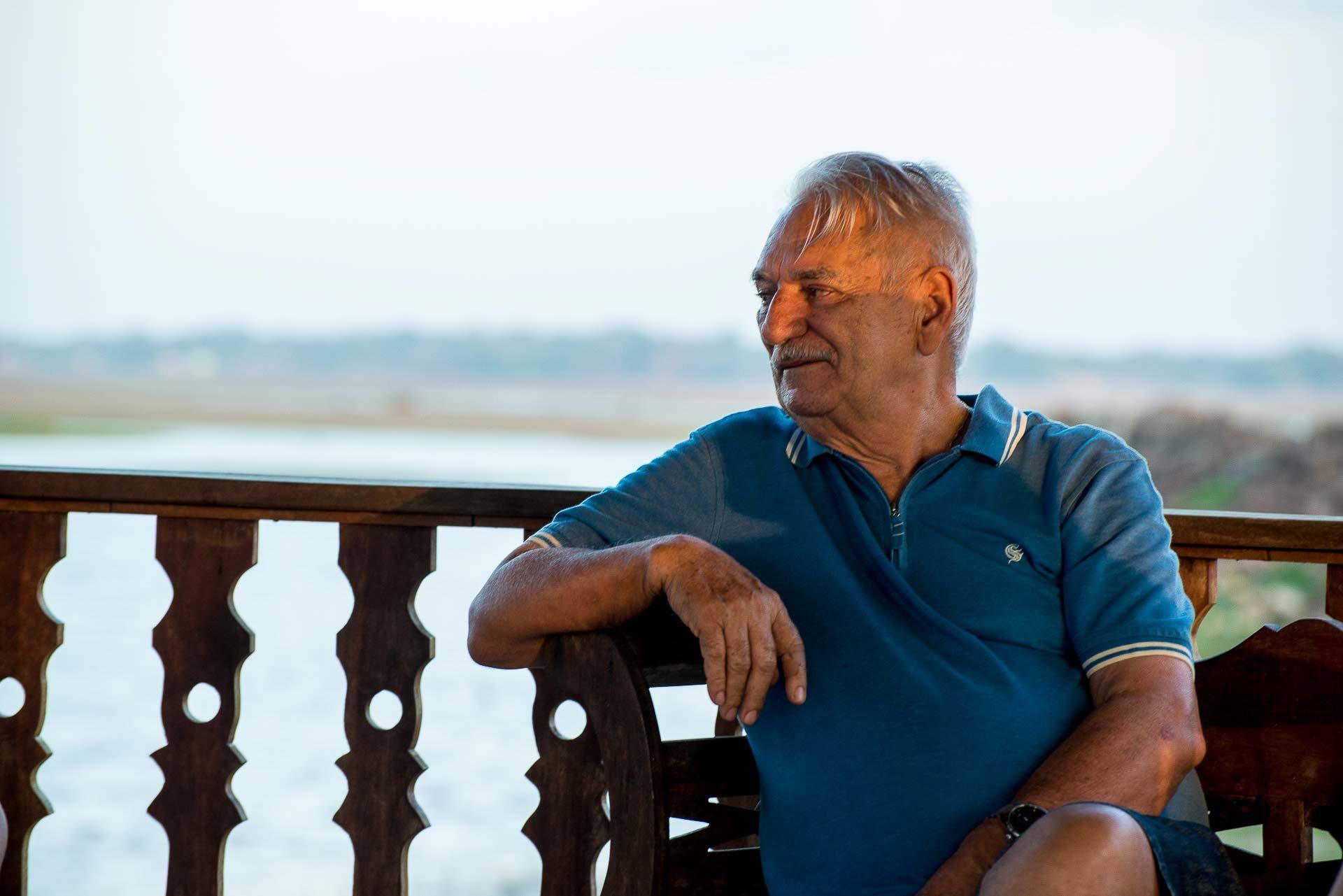 Seu Martins dono do Hotel Fazenda Vitória