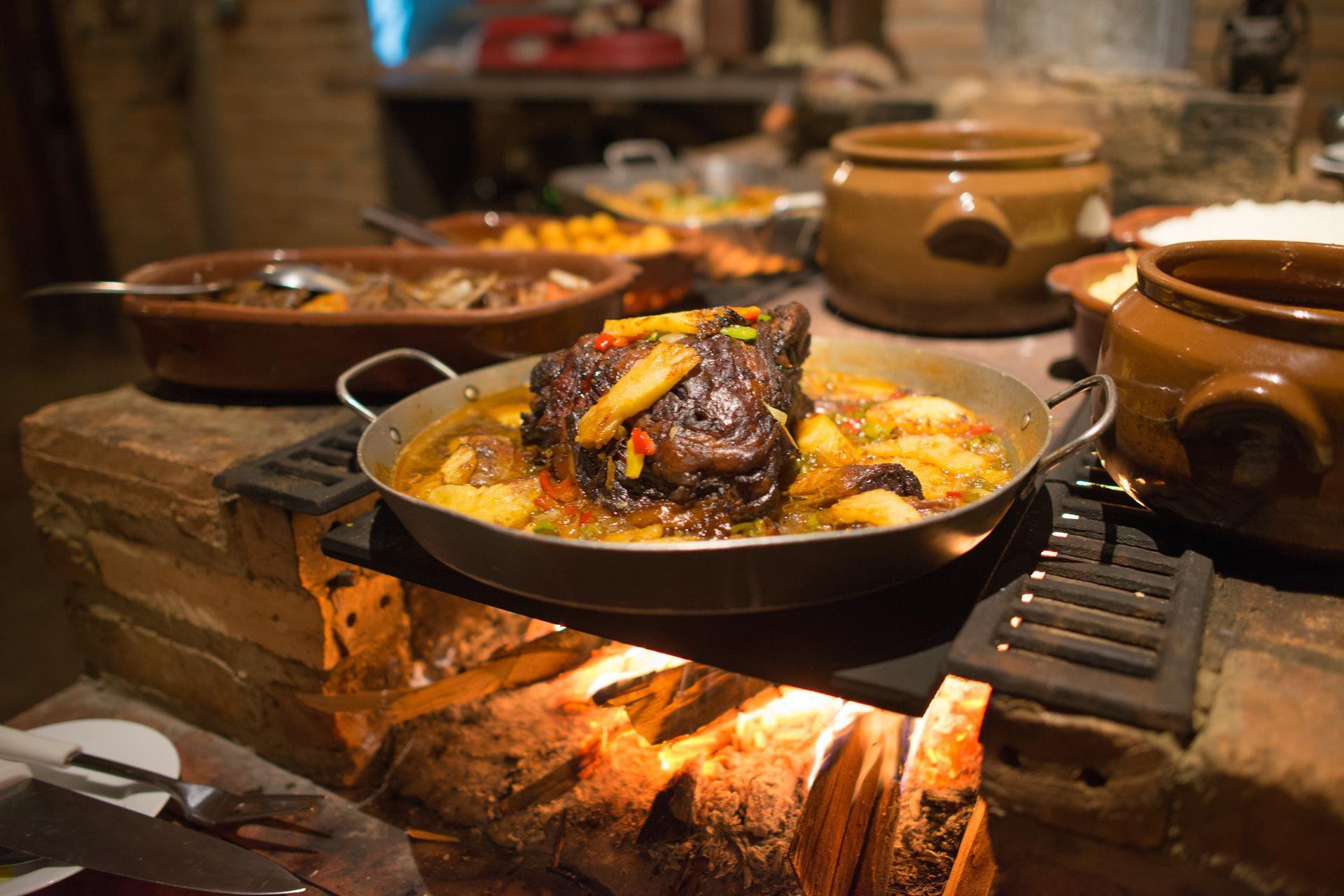 Jantar no Hotel Fazenda Vitória
