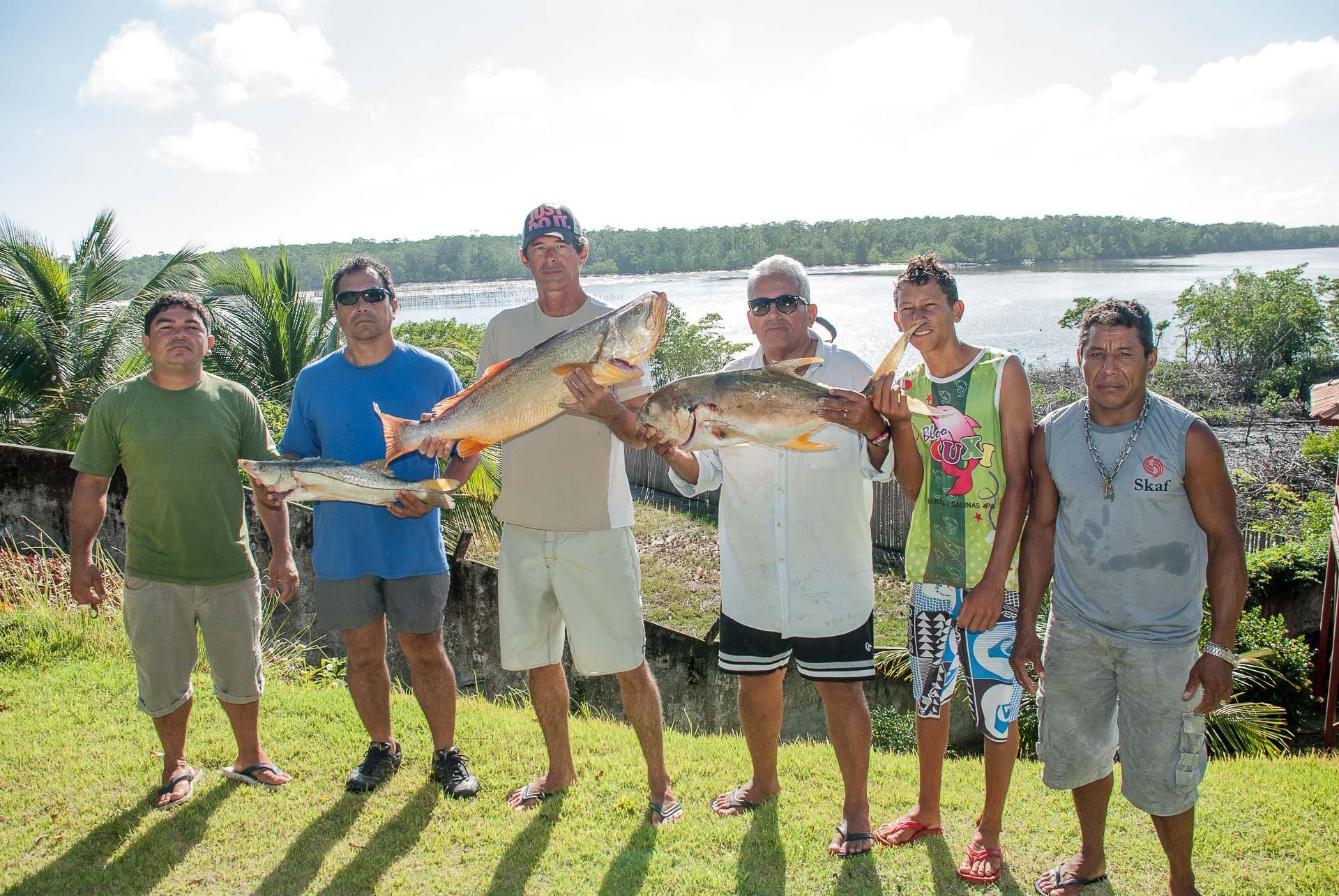 Pescaria esportiva em Cuiarana
