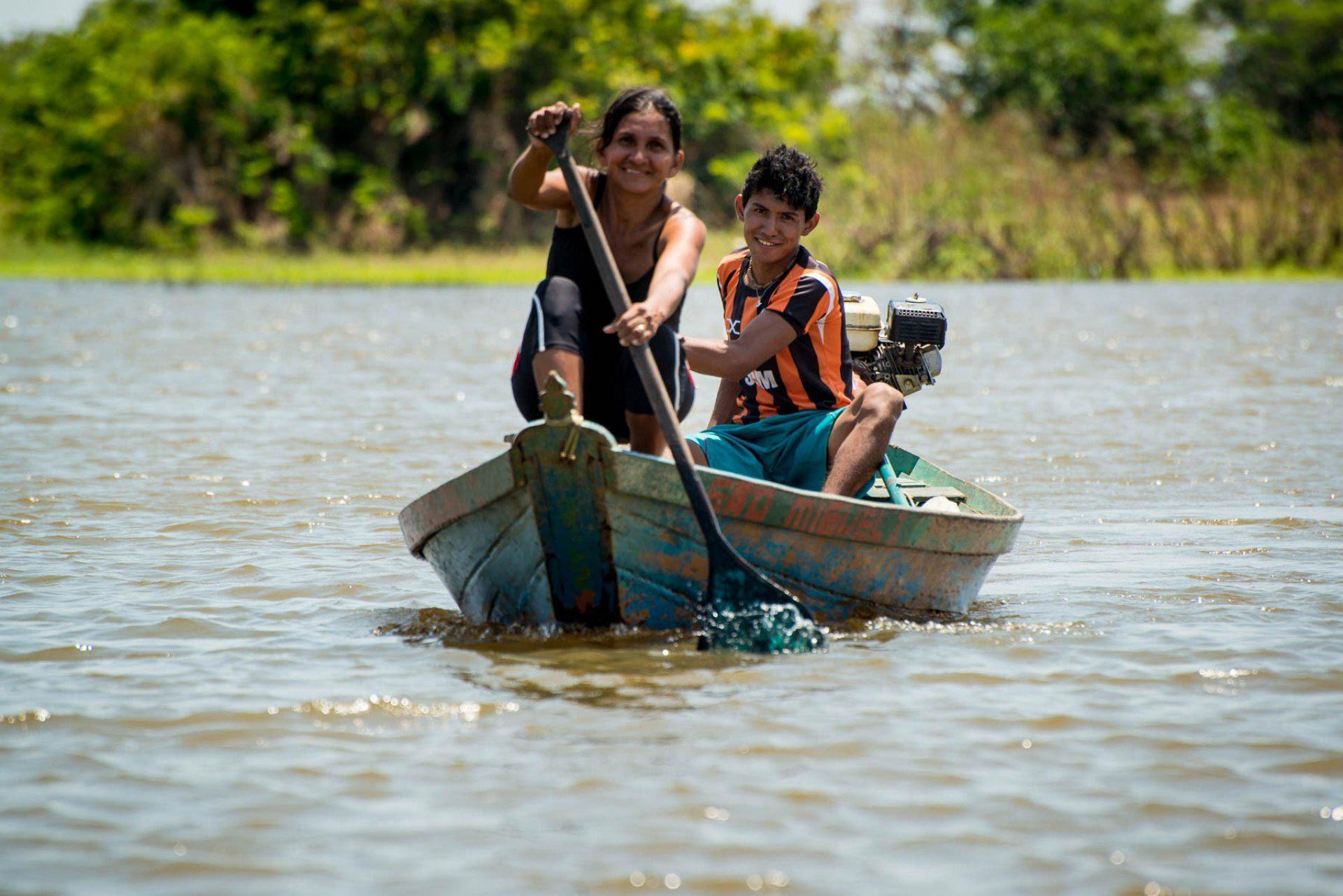 Ribeirinhos são lindos em todos os lugares do Pará - Orla de Santarém