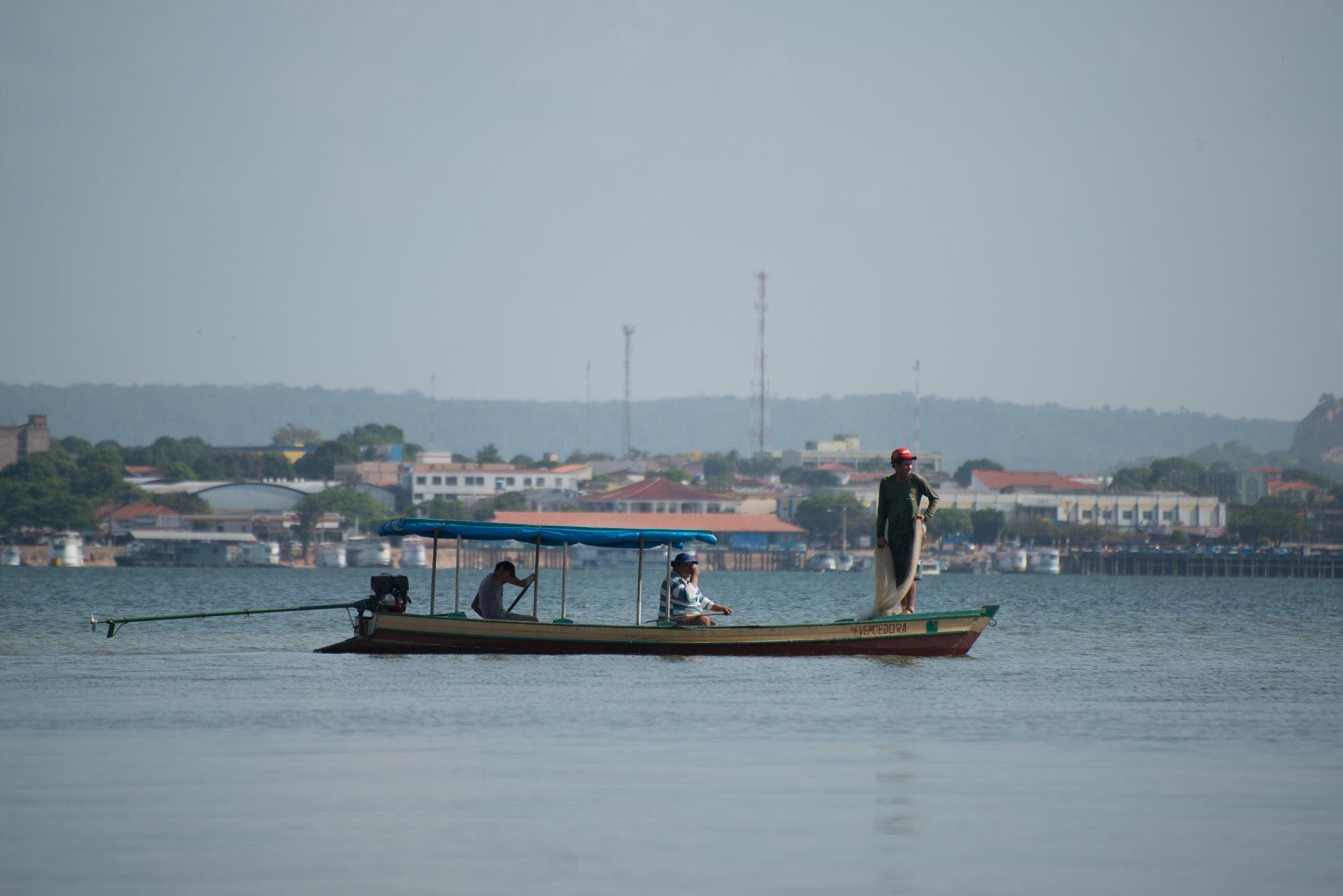 Encontro das águas - Santarém