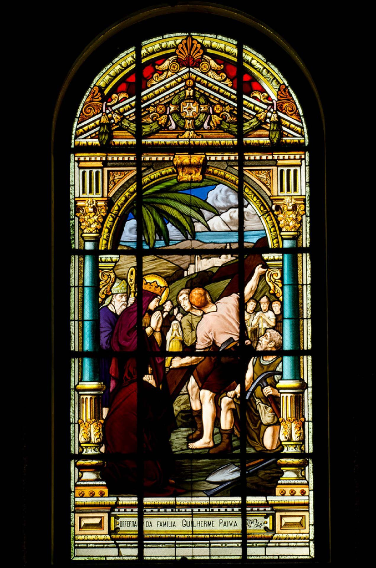 Vitrais da Basílica de Nazaré - Belém
