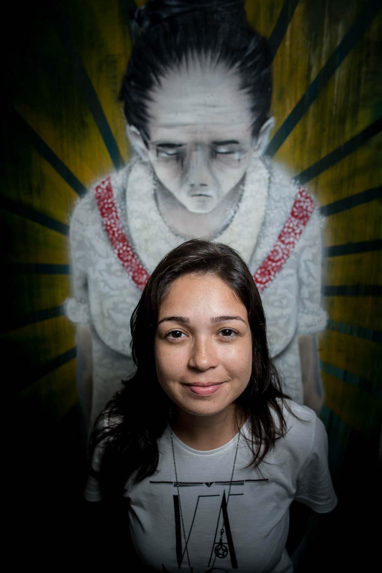 A artista grafiteira - Drika Chagas