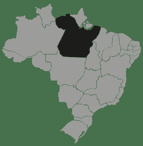 Mapa Pará