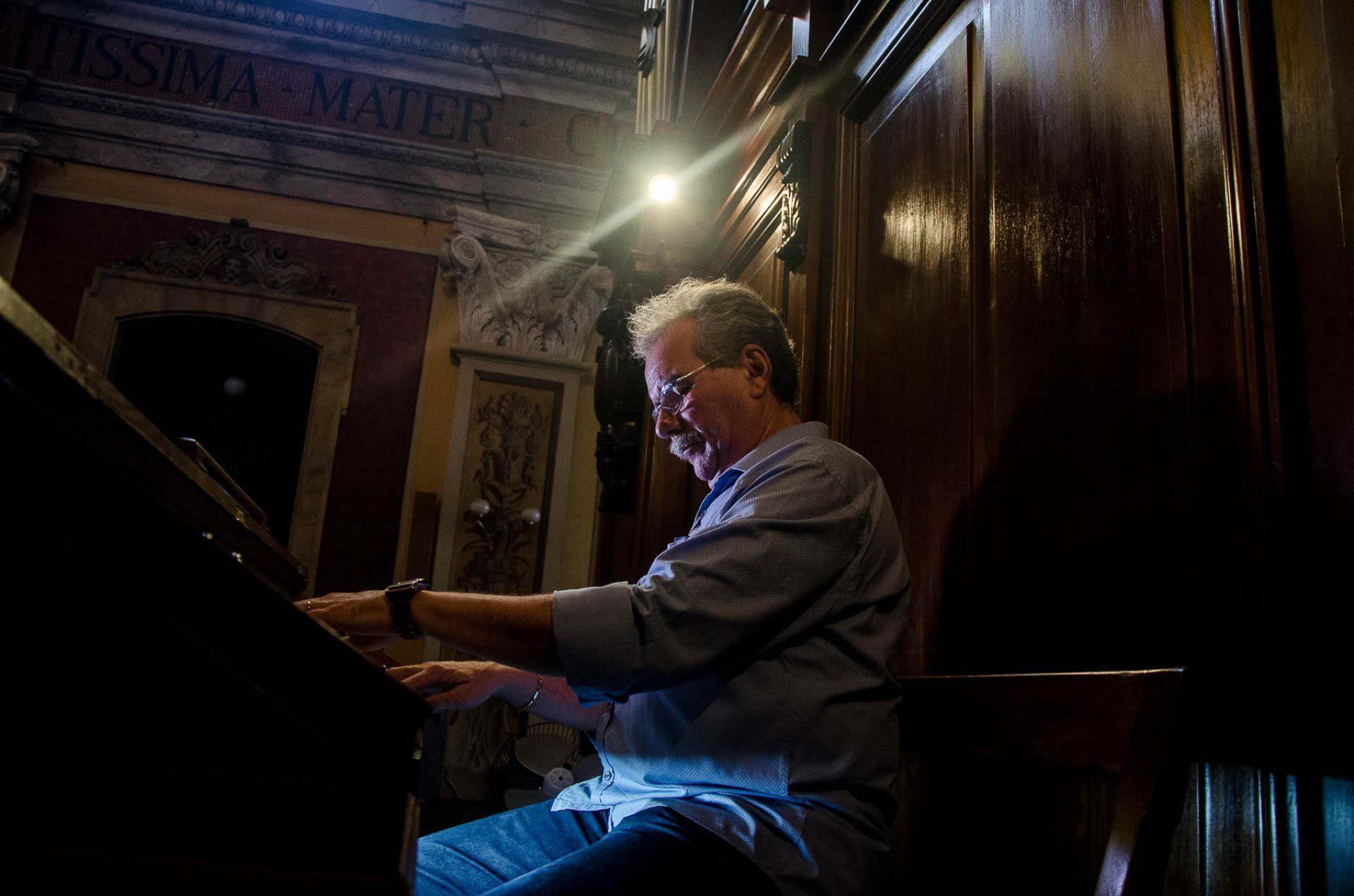 O pianista Paulo José Campos de Melo
