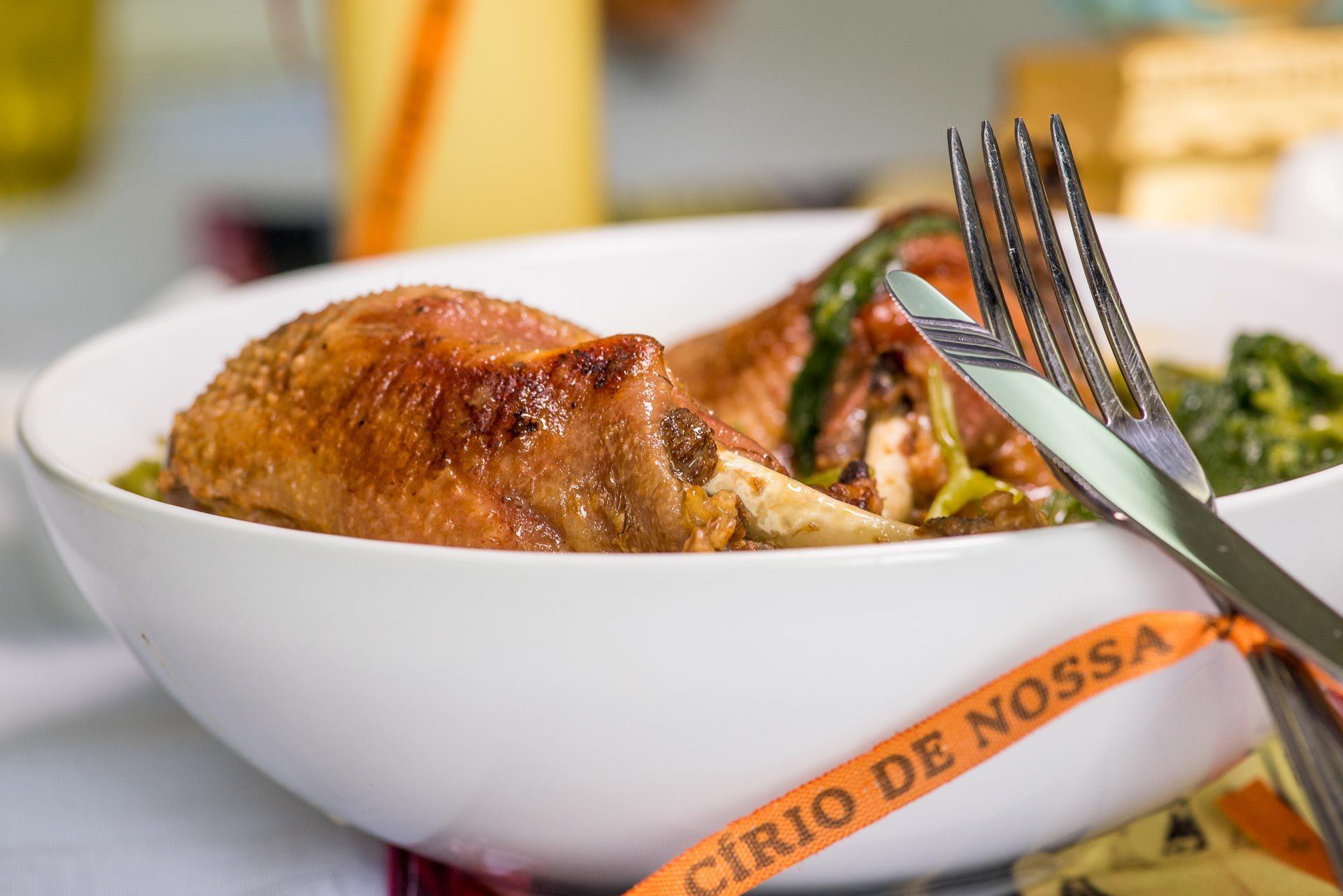 Almoço do Círio sempre tem Pato no tucupi