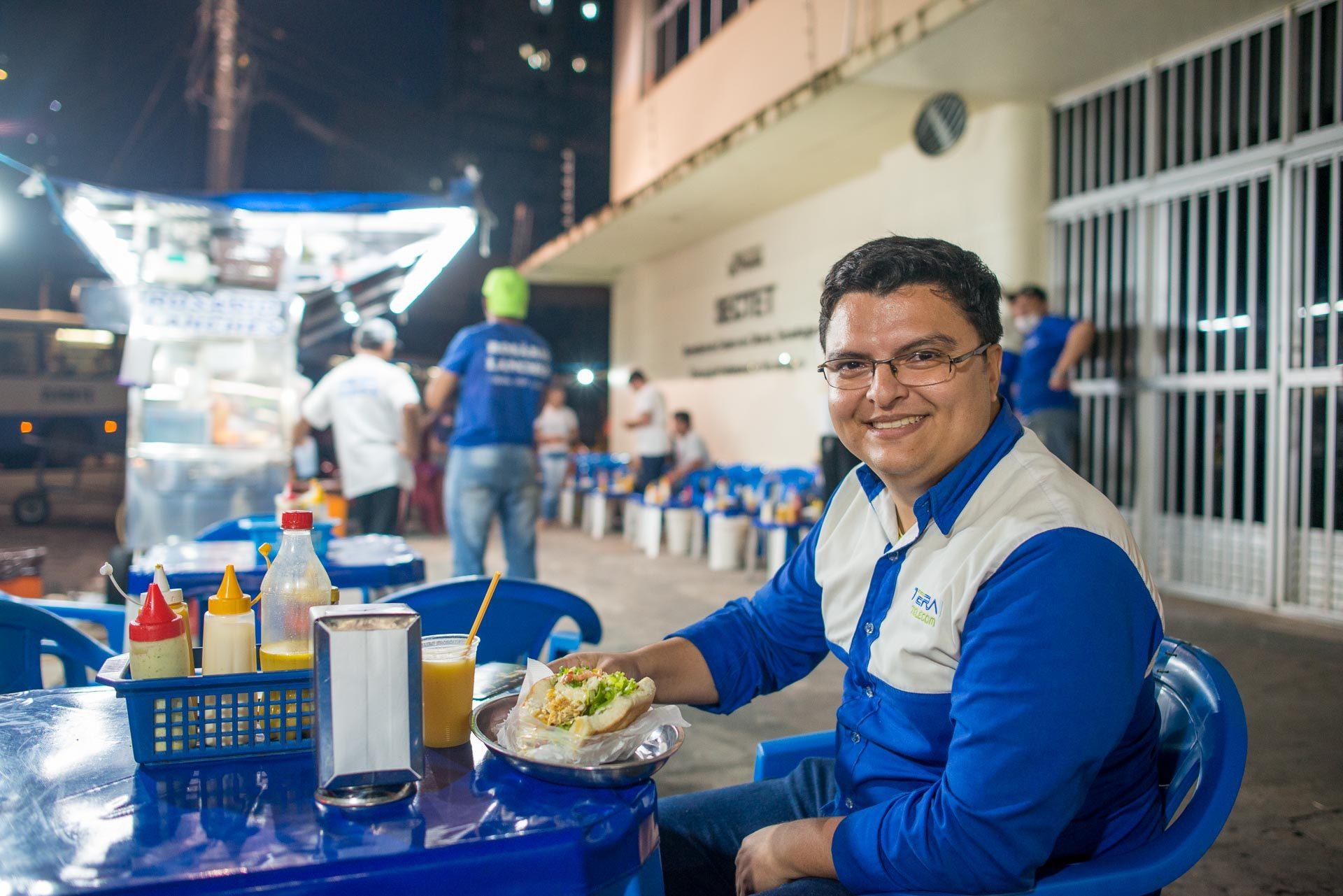 Gerson Serbino - Cliente assíduo do Rosário Lanches