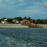 Chegando a Algodoal - Ilha de Maiandeua