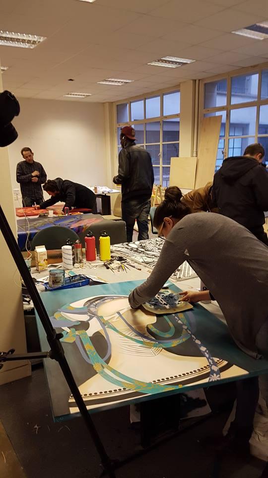 Trabalho de Drika Chagas em Paris