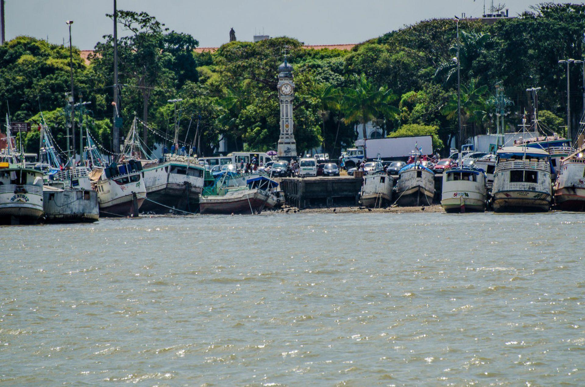 Praça do relógio - Belém do Pará