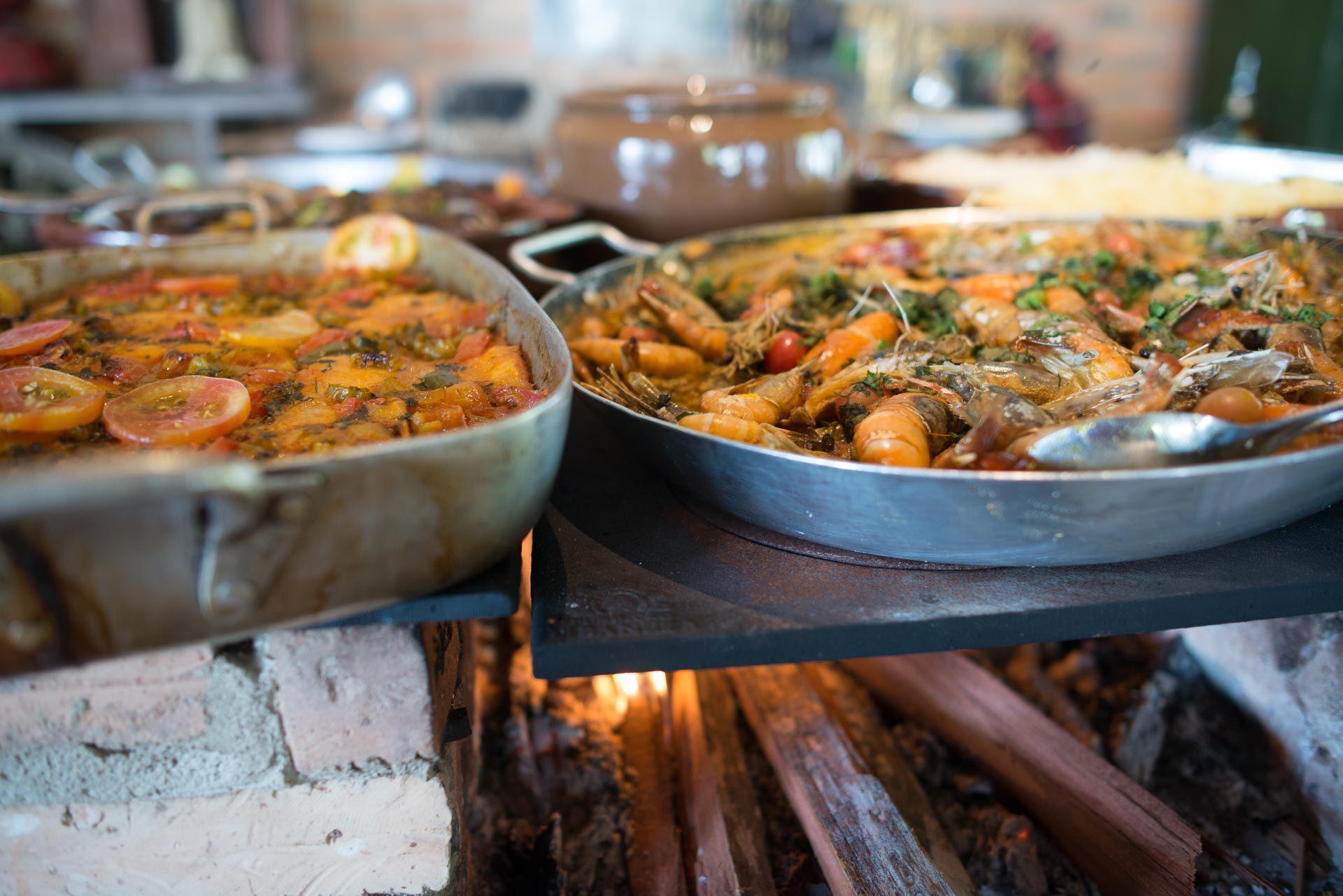 Almoço no Hotel Fazenda Vitória