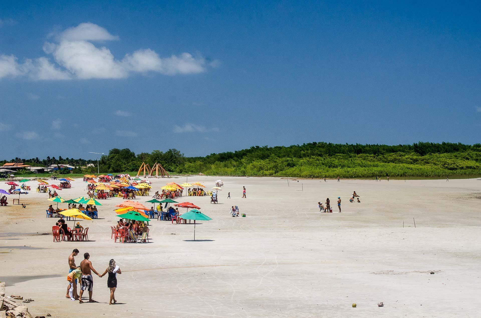 Praia de Marudá - Pará - Brasil