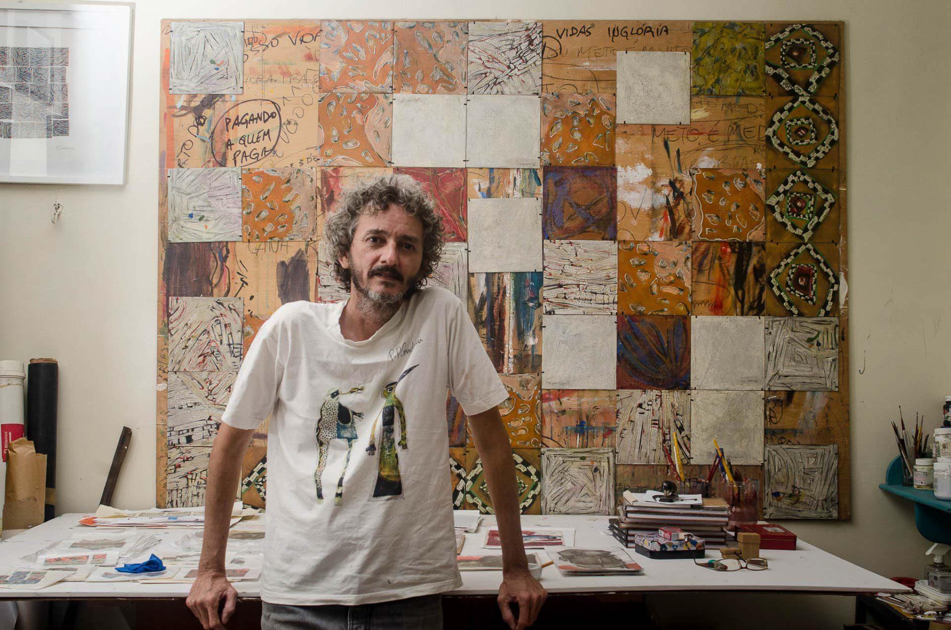 O artista PP Condurú