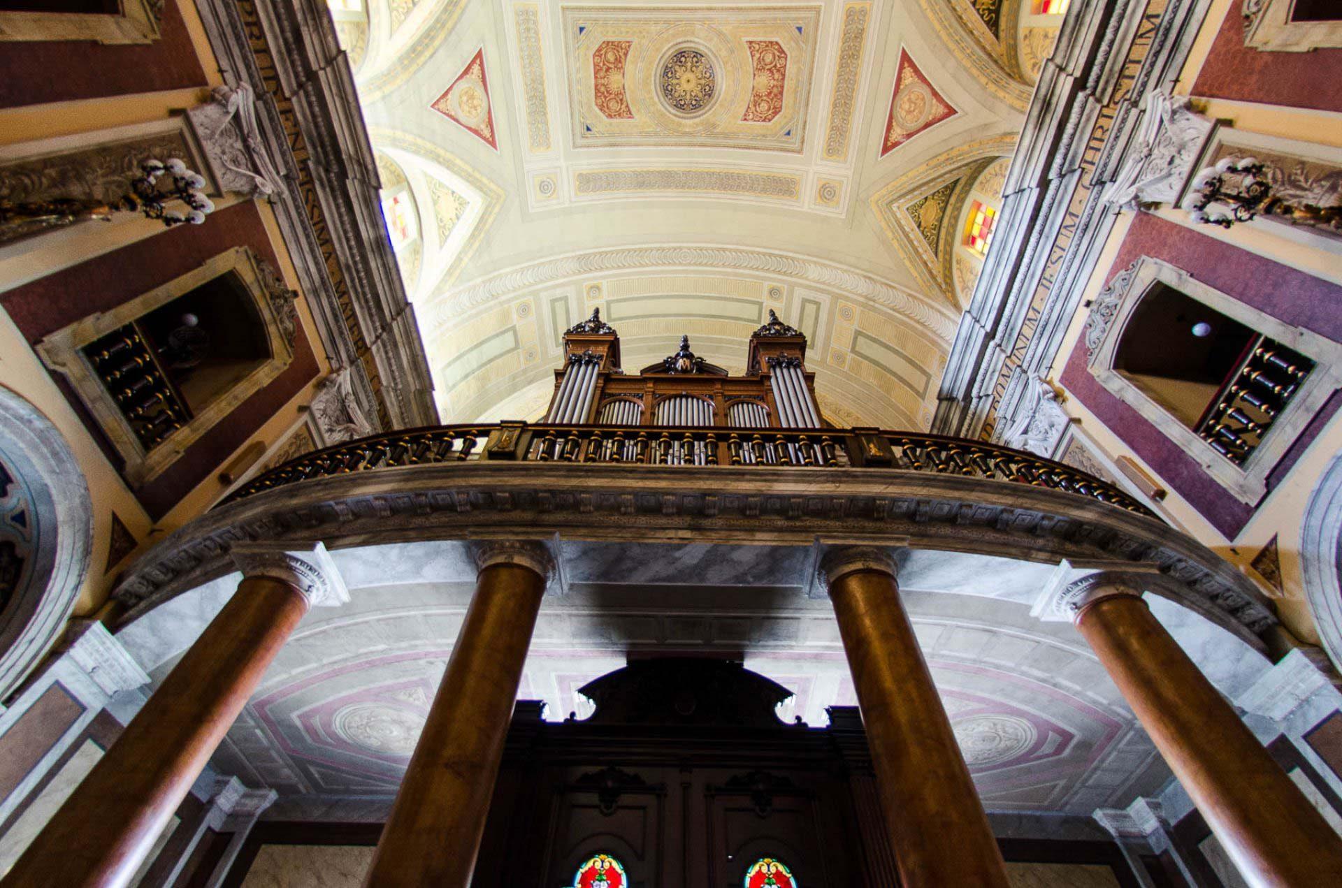 Órgão Francês na igreja da Sé