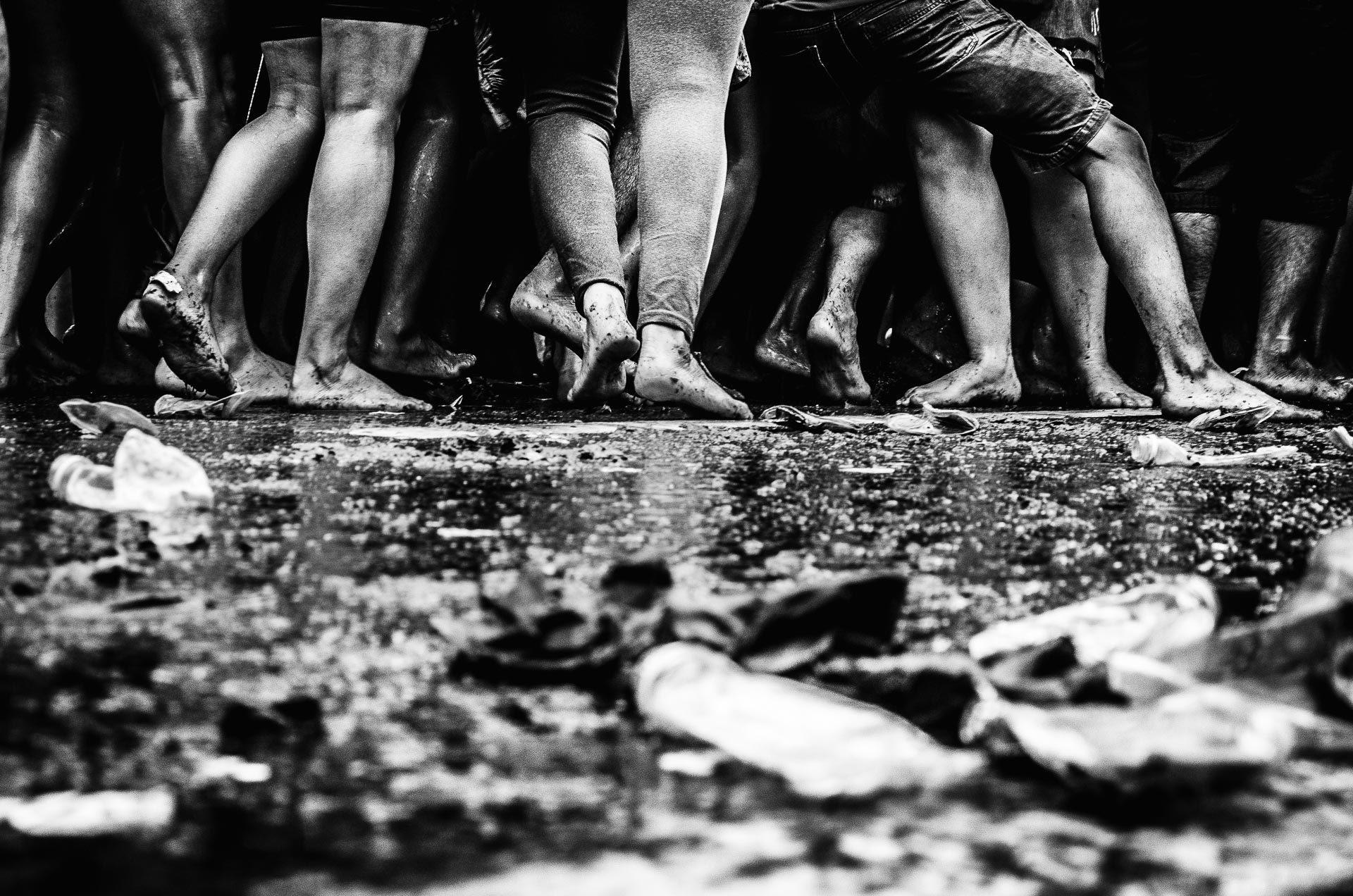 5 - Andar descalço nos passos da fé
